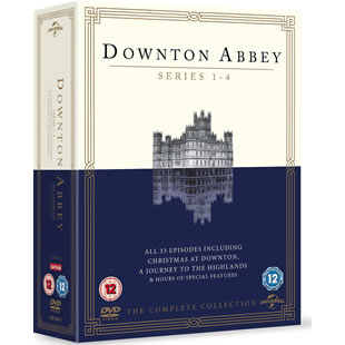 Downton Abbey DVD Set