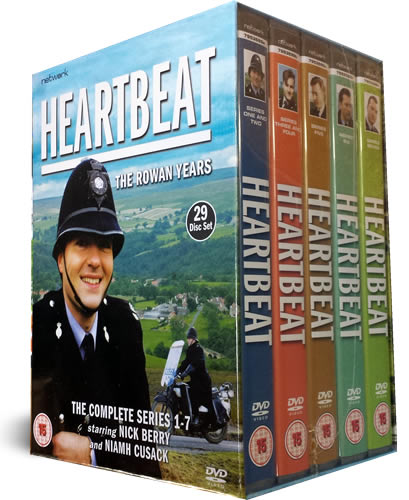 Heartbeat DVD The Rowan Years 1-7