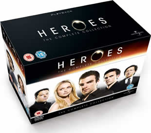 Heroes Complete DVD Collection