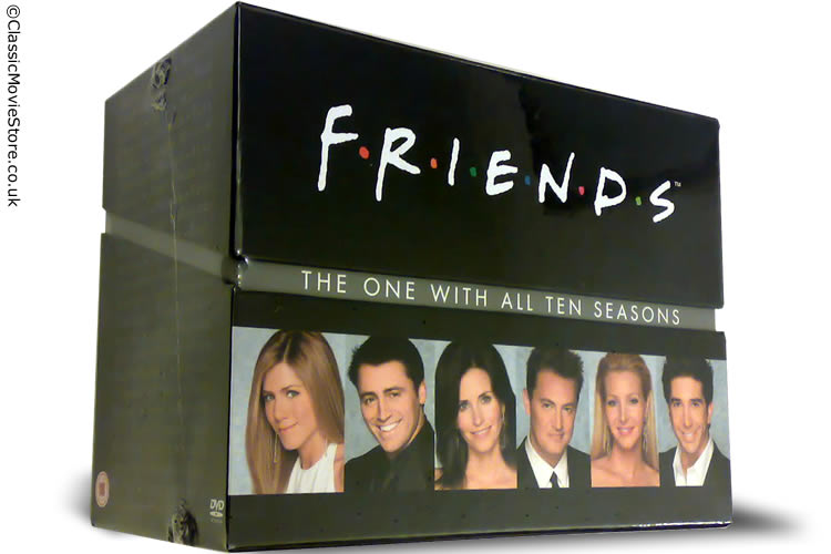 Friends DVD Complete - Click Image to Close