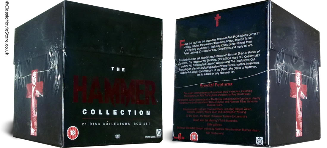 Hammer Horror DVD Collection - Click Image to Close
