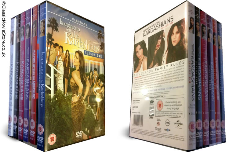 Keeping Up With The Kardashians DVD - Click Image to Close
