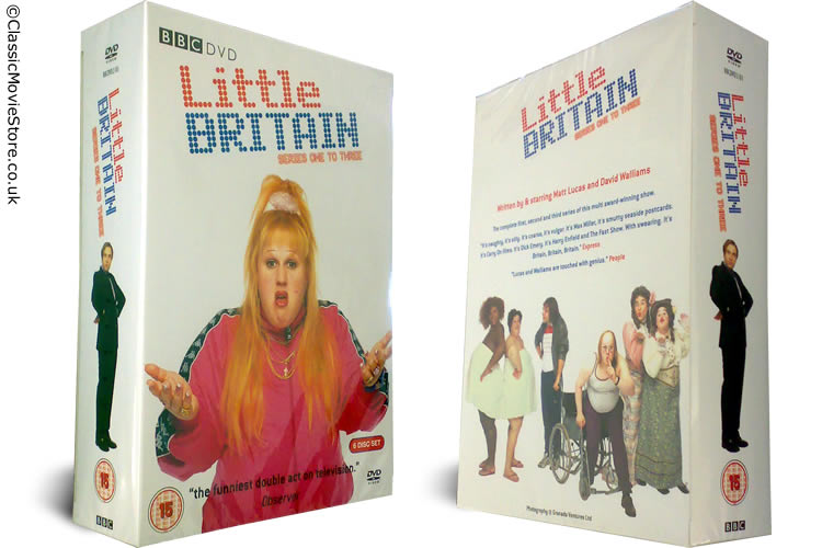 Little Britain DVD Set - Click Image to Close