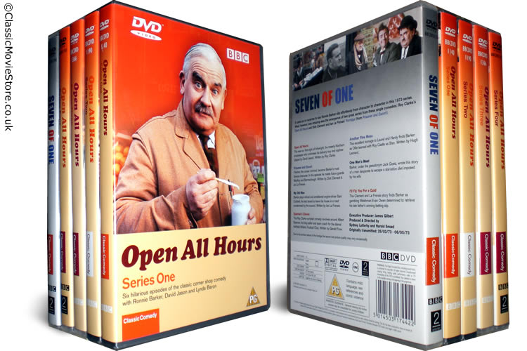Open All Hours DVD Set - Click Image to Close
