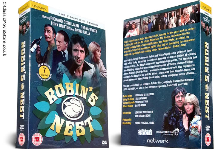 Robin's Nest DVD Complete - Click Image to Close