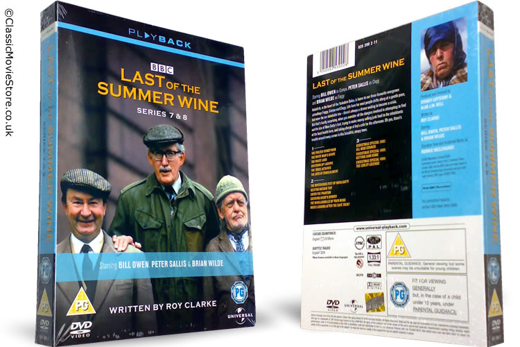 Last of the Summer Wine 7-8 DVD - Click Image to Close