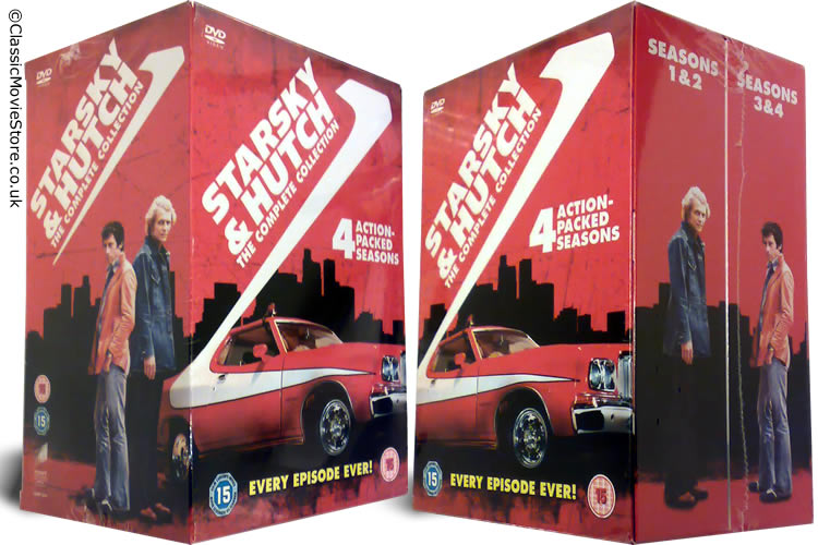 Starsky And Hutch DVD Box Set - Click Image to Close