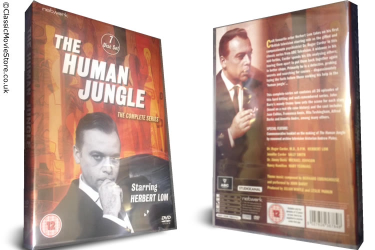 The Human Jungle DVD - Click Image to Close