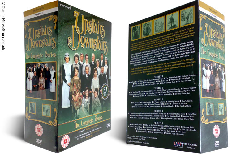 Upstairs Downstairs DVD - Click Image to Close