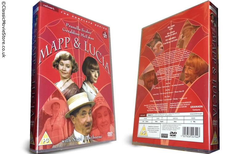Mapp And Lucia DVD Set