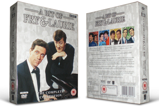 A Bit Of Fry And Laurie DVD set