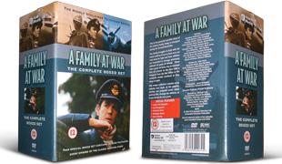 A Family at War DVD