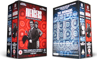The Avengers dvd collection