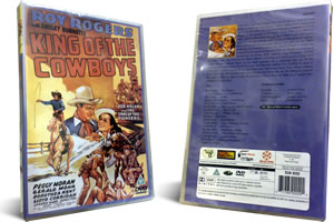 Roy Rogers King of the Cowboys dvd