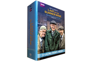 Last of the Summer Wine Series 1-12 DVD