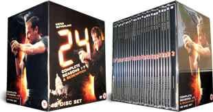 24 DVD Complete Series 1-7