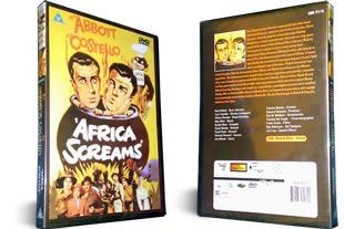Abbott and Costello Africa Screams dvd