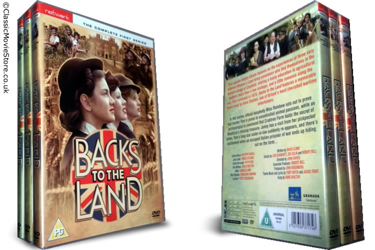 Backs To The Land dvd collection