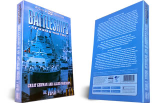 Battleships of World War Two dvd