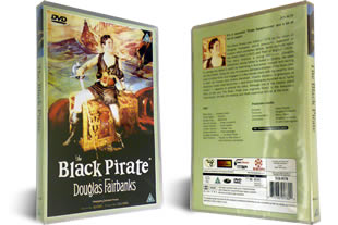 Douglas Fairbanks Black Pirate dvd