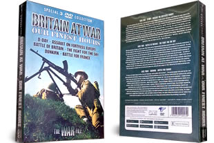 Britain At War Our Finest Hours Triple DVD Set
