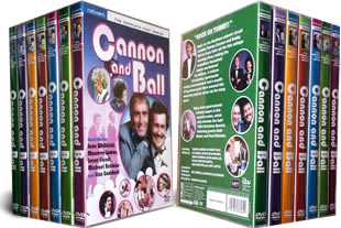 Cannon and Ball dvd collection