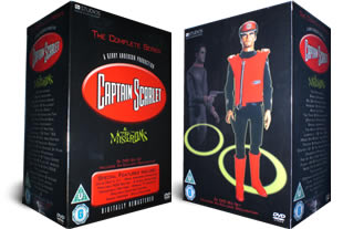 Captain Scarlet dvd collection