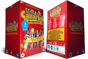 Carry On DVD Ultimate Complete Box Set