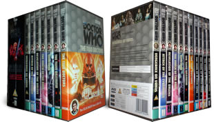 Colin Baker Doctor Who DVD Set