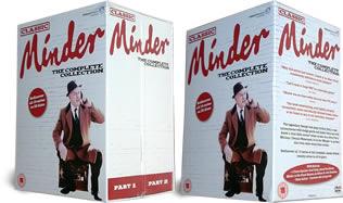 Minder Complete DVD