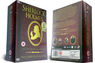 Sherlock Holmes The Complete Collection dvd box set