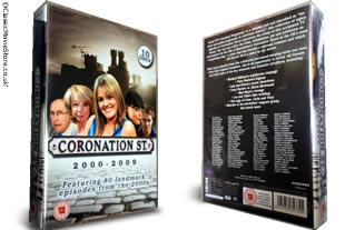 Coronation Street 2000-2009 dvd collection