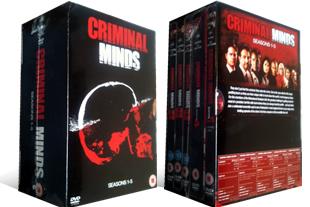 Criminal Minds dvd collection