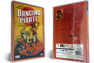 The Dancing Pirate dvd