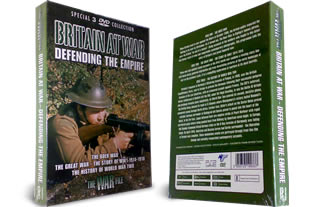 Britain at war Defending the Empire DVD