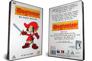 Dogtanian dvd collection