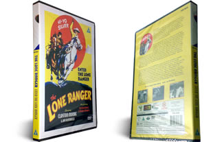 Enter the Lone Ranger dvd