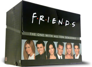 Friends DVD Complete - £89.97 : Classic Movies on DVD from ClassicMovieStore.co.uk