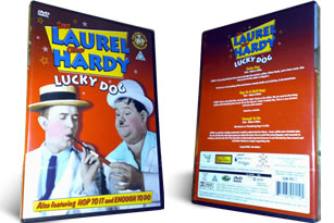 Laurel and Hardy Lucky Dog and Hop to It dvd