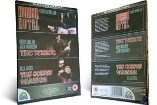 Horror Hotel DVD