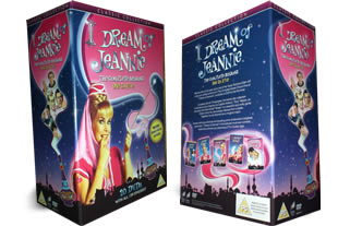 I Dream Of Jeannie dvd collection