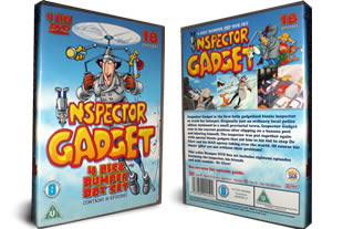 Inspector Gadget dvd collection