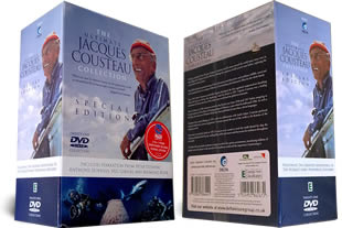 Jacques Cousteau DVD