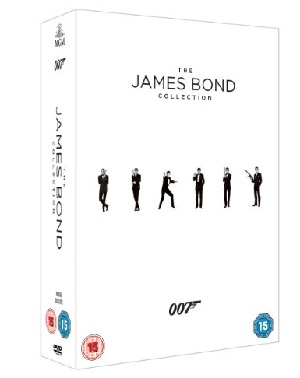 James Bond DVD Ultimate Casino Set