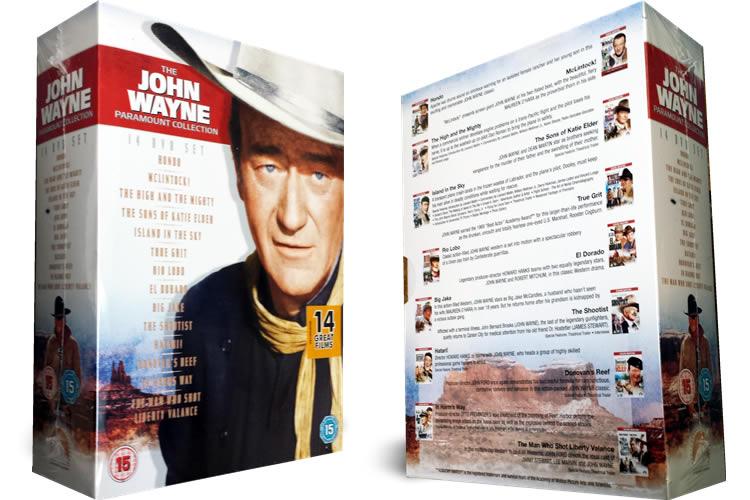 John Wayne dvd collection