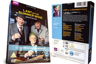 Last of the Summer Wine Series 21 & 22 dvd collection