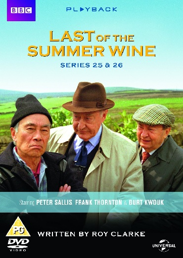 Last of the Summer Wine Series 25 and 26 DVD
