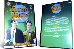 Laurel and Hardy Home Movies and Lucky Dog dvd