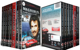 Magnum P I dvd collection