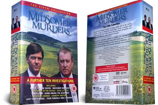 Midsomer Murders DVD The Fifth Collection